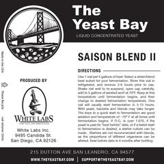 Saison Blend II (The Yeast Bay) REA 4-12 mån