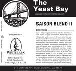Saison Blend II (The Yeast Bay) SALE 4-12 mon