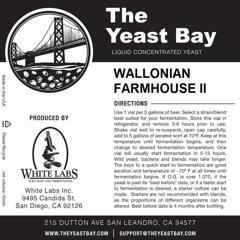Wallonian Farmhouse II (The Yeast Bay)