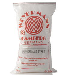 Munich Malt Type 1 (Weyermann®), whole, 25 kg