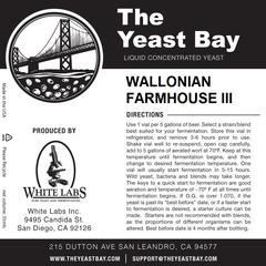 Wallonian Farmhouse III (The Yeast Bay)
