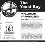 Wallonian Farmhouse III (The Yeast Bay)