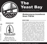 Brettanomyces Bruxellensis TYB184 (The Yeast Bay)