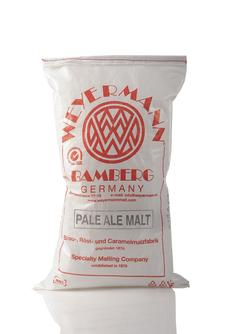 Pale Ale Malt, crushed, 25 kg