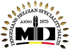 Belgian Ale Malt (Dingemans), whole 1 kg