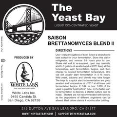 Saison Brettanomyces Blend II (The Yeast Bay)