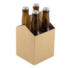 fyrpack för flaskor