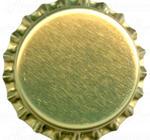 guldfärgade kapsyler, 10000 st