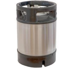 cornelius keg, new, 9 liter capacity. Pin-lock type.