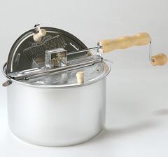 Whirley Pop, aluminium