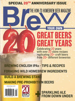Brew Your Own, September 2015