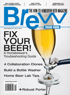 Brew Your Own, September 2012