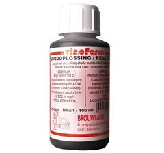 jodlösning för mätning av sulfit i vin, 100 ml, REA