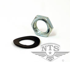 M12 Nut and steel washer, Sachs clutch basket