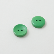 Wooden buttons - green candy