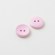 Wooden buttons - pink candy