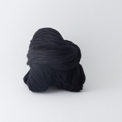 Abuelita Merino Worsted - Midnight black