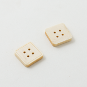 Wooden buttons - Square