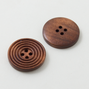 Wooden buttons - Large - Circles
