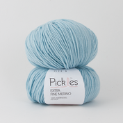 Pickles Extra Fine Merino - Clear blue sky