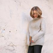 Light Turtleneck Sweater