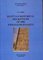 Egyptian Historical Inscriptions of the Twentieth Dynasty