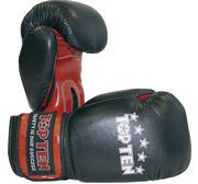 Topten Thaiboxingglove 10 oz, Black