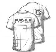 Booster Pro Range, Walk Out T-Shirt White