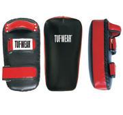 Tuf-Wear Thaimits Leather, Black/Red (Single)