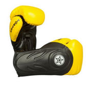 Topten Boxingglove Hero, Yellow/Black 12 and 16 oz
