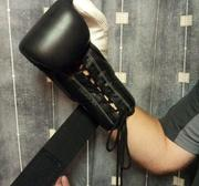 Topten Boxingglove PROFI, lacing o Velcro, 12-16 oz