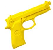 Pistol Rubber 19 cm Yellow