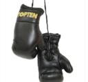Mini boxhandskar Topten, Svart