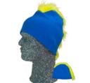 Frigg Beanie, Blå/Gul One size