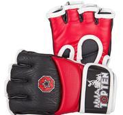 Topten MMA Ultimate Gel Fight Gloves, Red/Black