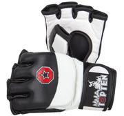 Topten MMA Free Fight Evo-Flexx Gloves, Black/White