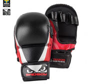 Bad Boy Training Series 2.0 MMA Safety gloves, Black/Red