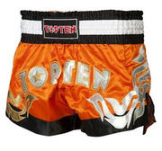 Topten Thaiboxingshorts Pro, Orange