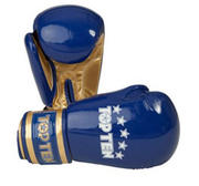Topten Boxingglove Champion, Blue/Gold 10-12 oz