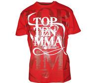 Topten T-shirt MMA Röd