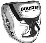 Booster Pro Range Full Face Protection Huvudskydd, Small Vit