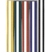 Moon bälte färgade/vit stripe 4  - 4,5 cm 240-250 cm