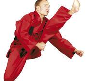 Hayashi Kirin Karate Gi Red