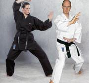 Hayashi Kamiza Karate Gi White, 12 oz