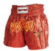 Topten Thaiboxingshorts Shine, Red