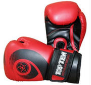 Topten Boxingglove Red Whirl WCS, Red 10-12 oz