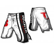 Booster MMA trunks PRO Origin, White/Black
