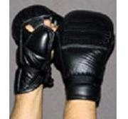 Dark Edge grappling glove Leather, Large