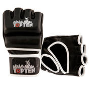 Topten MMA Training Grappling Gloves, Black