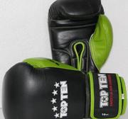 Topten Boxingglove Giant Black/Green 10-16 oz
